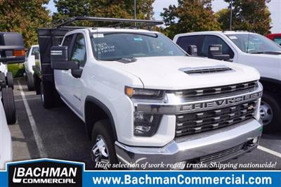 2020 Chevrolet Silverado 3500 Crew Cab DRW 4x4, Palfinger Contractor Body #20-7784 - photo 1
