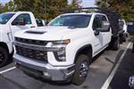 2020 Chevrolet Silverado 3500 Crew Cab DRW 4x4, Palfinger Contractor Body #20-7784 - photo 4