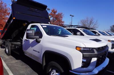 2020 Chevrolet Silverado 3500 Regular Cab DRW 4x4, Crysteel E-Tipper Dump Body #20-7968 - photo 4