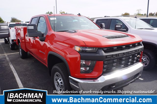 2020 Chevrolet Silverado 3500 Crew Cab 4x4, Knapheide Service Body #20-8074 - photo 1
