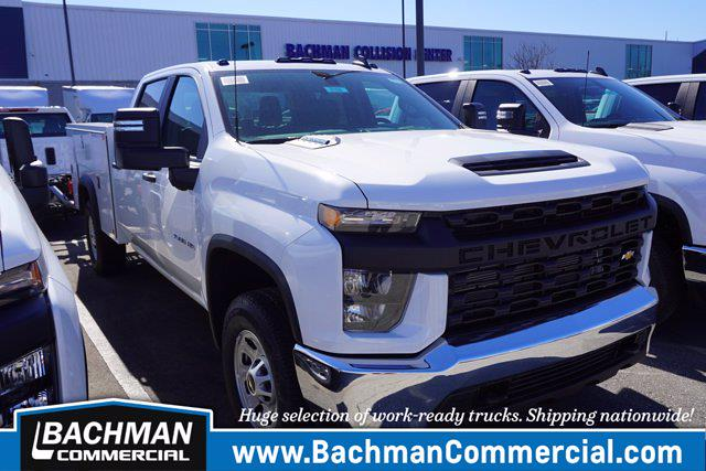 2020 Chevrolet Silverado 3500 Crew Cab 4x4, Monroe Service Body #20-8168 - photo 1