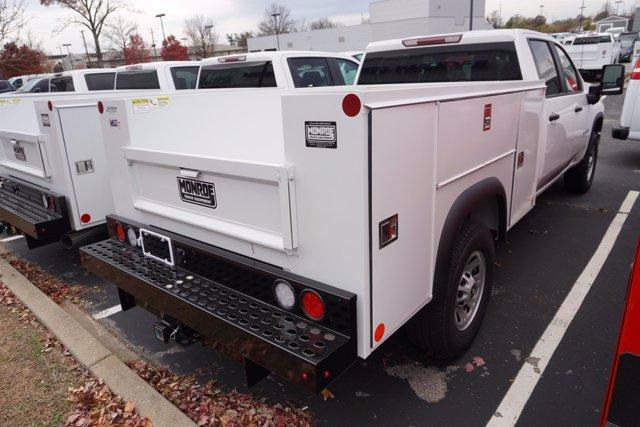 2020 Chevrolet Silverado 3500 Crew Cab 4x4, Monroe MSS II Service Body #20-8262 - photo 2