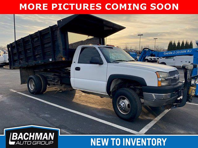 2003 Chevrolet Silverado 3500 Regular Cab 4x4, Landscape Dump #20-8318A - photo 1