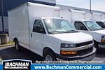 2021 Express 3500 4x2,  Morgan Truck Body Cutaway Van #21-0007 - photo 1
