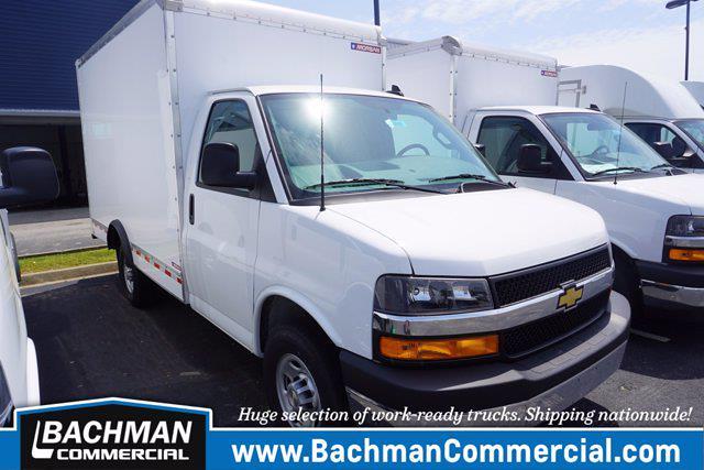 2021 Chevrolet Express 3500 4x2, Morgan Cutaway Van #21-0008 - photo 1