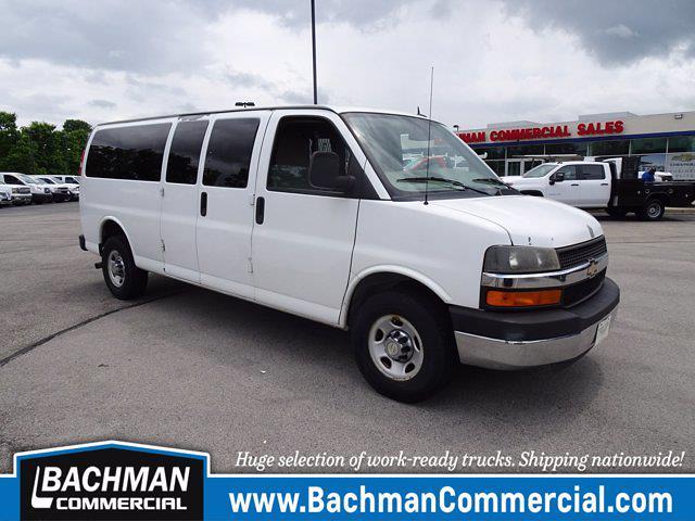 2011 Chevrolet Express 3500 4x2, Empty Cargo Van #21-0508A - photo 1