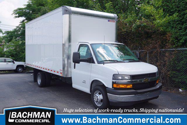 2021 Chevrolet Express 4500 DRW 4x2, Morgan Cutaway Van #21-0725 - photo 1