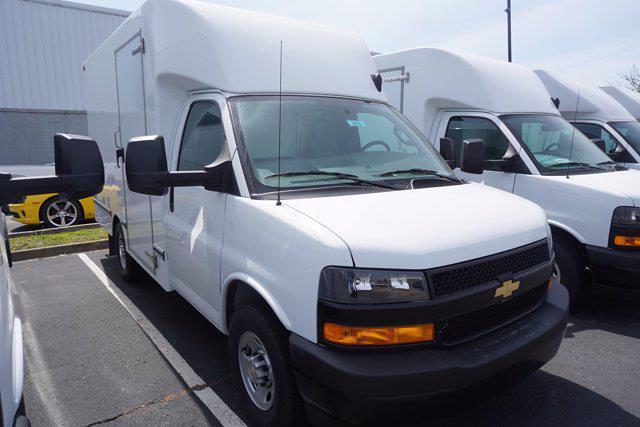 2021 Chevrolet Express 3500 4x2, Unicell Aerocell CW Cutaway Van #21-9433 - photo 3
