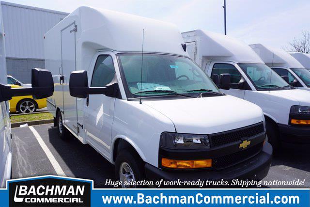 2021 Chevrolet Express 3500 4x2, Unicell Aerocell CW Cutaway Van #21-9486 - photo 1
