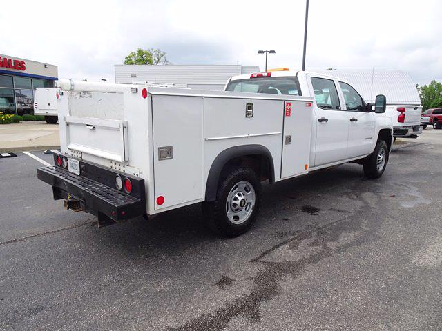 2018 Chevrolet Silverado 2500 Crew Cab 4x4, Monroe Service Body #P15357 - photo 1