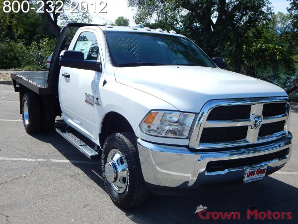 2016 Ram 3500 Regular Cab DRW 4x4, Knapheide Platform Body #16D138 - photo 12