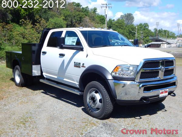 2017 Ram 4500 Crew Cab DRW 4x4, Knapheide Platform Body #17D096 - photo 15