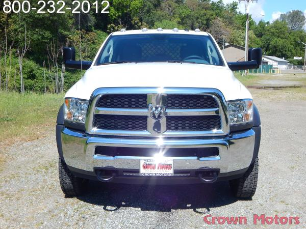 2017 Ram 4500 Crew Cab DRW 4x4,  Knapheide Platform Body #17D096 - photo 16