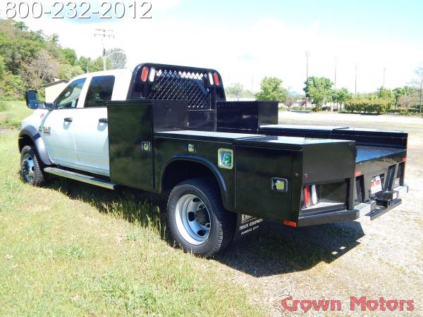 2017 Ram 4500 Crew Cab DRW 4x4, Knapheide Platform Body #17D096 - photo 2