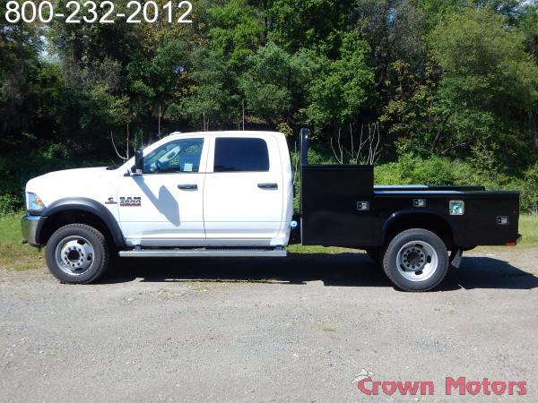 2017 Ram 4500 Crew Cab DRW 4x4,  Knapheide Platform Body #17D096 - photo 3