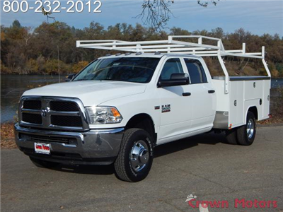 2017 Ram 3500 Crew Cab DRW 4x4, Harbor TradeMaster Service Body #17D222 - photo 1