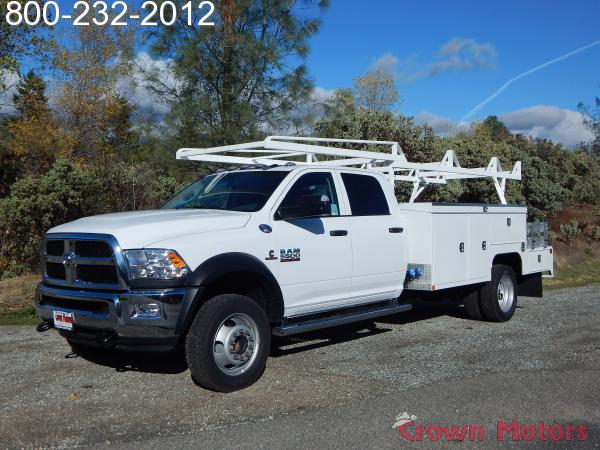 2017 Ram 5500 Crew Cab DRW 4x4, Scelzi Combo Bodies Combo Body #17D223 - photo 1
