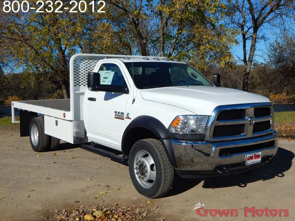 2017 Ram 4500 Regular Cab DRW 4x4, Scelzi Platform Body #17D228 - photo 10
