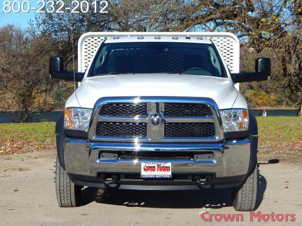 2017 Ram 4500 Regular Cab DRW 4x4,  Scelzi WFB Platform Body #17D228 - photo 11
