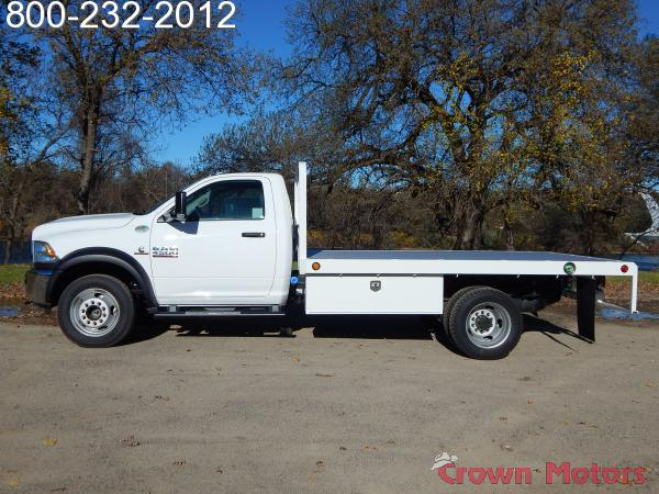 2017 Ram 4500 Regular Cab DRW 4x4,  Scelzi WFB Platform Body #17D228 - photo 3