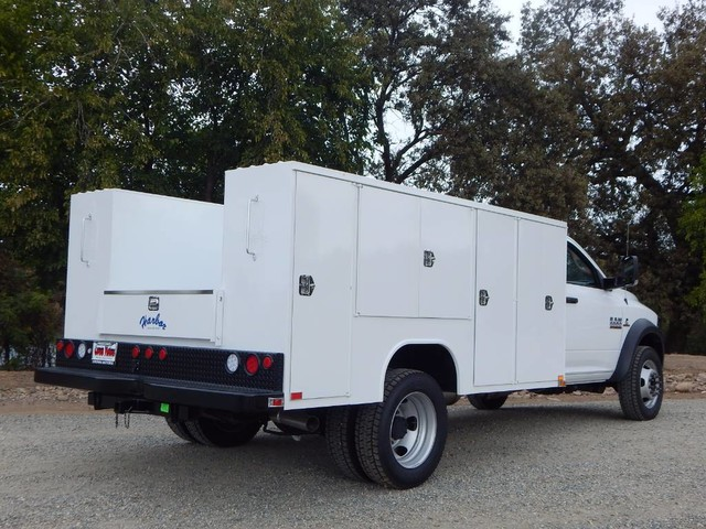 2017 Ram 5500 Regular Cab DRW 4x4,  Harbor Service Body #17D245 - photo 3