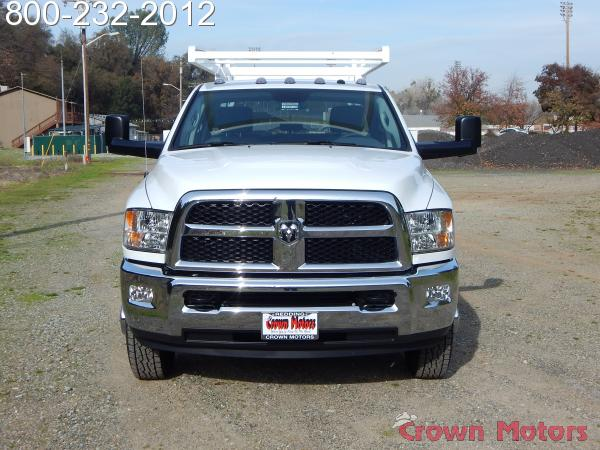 2018 Ram 3500 Crew Cab DRW 4x4, Scelzi Service Body #18D048 - photo 14
