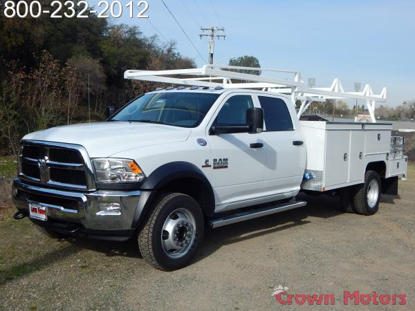 2018 Ram 5500 Crew Cab DRW 4x4,  Scelzi Combo Bodies Combo Body #18D054 - photo 1