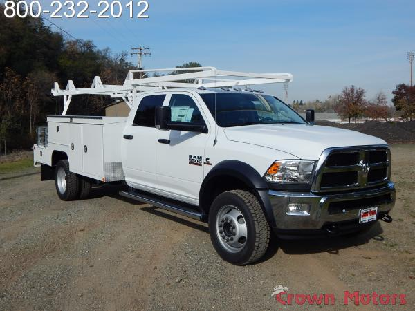 2018 Ram 5500 Crew Cab DRW 4x4,  Scelzi Combo Bodies Combo Body #18D054 - photo 14