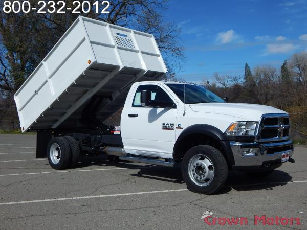 2018 Ram 5500 Regular Cab DRW 4x4, Scelzi Landscape Dump #18D122 - photo 12