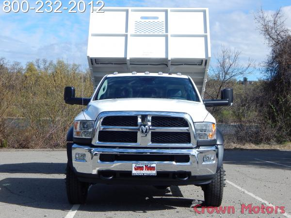 2018 Ram 5500 Regular Cab DRW 4x4, Scelzi Landscape Dump #18D122 - photo 14