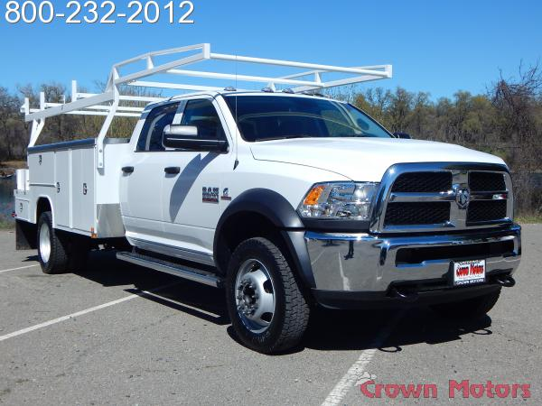 2018 Ram 5500 Crew Cab DRW 4x4, Harbor Combo Body #18D129 - photo 13