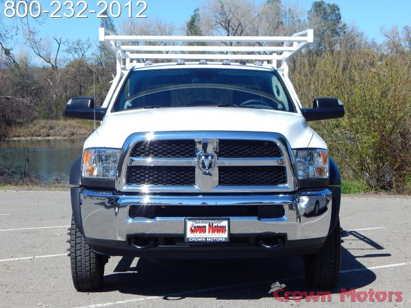 2018 Ram 5500 Crew Cab DRW 4x4, Harbor Combo Body #18D129 - photo 14