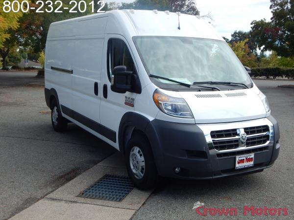 2018 ProMaster 2500 High Roof FWD,  Empty Cargo Van #18D268 - photo 12