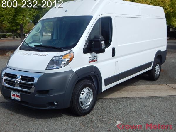 2018 ProMaster 2500 High Roof FWD,  Empty Cargo Van #18D268 - photo 3