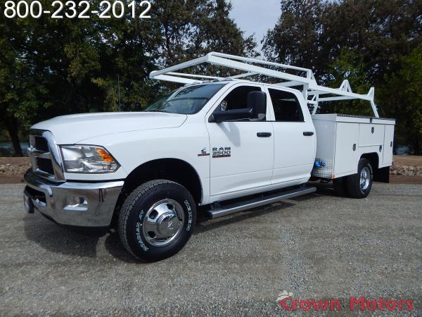 2018 Ram 3500 Crew Cab DRW 4x4,  Scelzi Service Body #18D310 - photo 3
