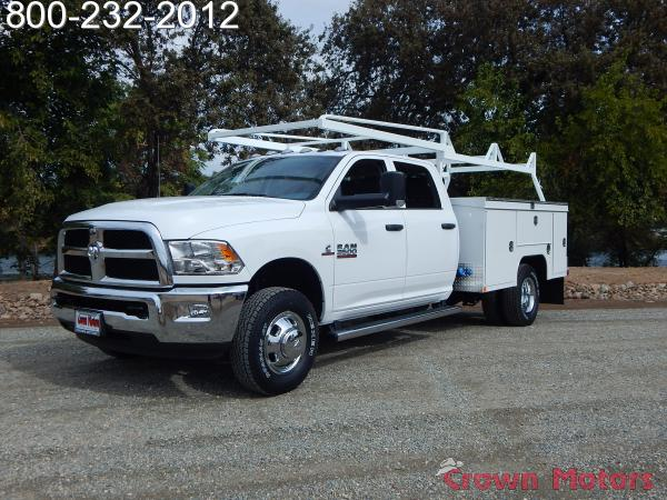 2018 Ram 3500 Crew Cab DRW 4x4,  Scelzi Service Body #18D310 - photo 4