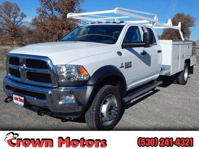 2018 Ram 5500 Crew Cab DRW 4x4,  Scelzi SEC Combo Body #18D339 - photo 1