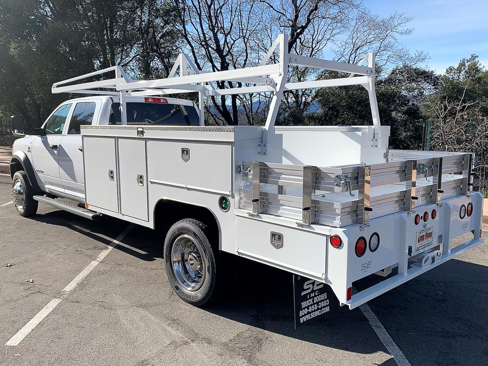 2020 Ram 5500 Crew Cab DRW 4x4, Scelzi 12ft Combo Body #20D076 - photo 1