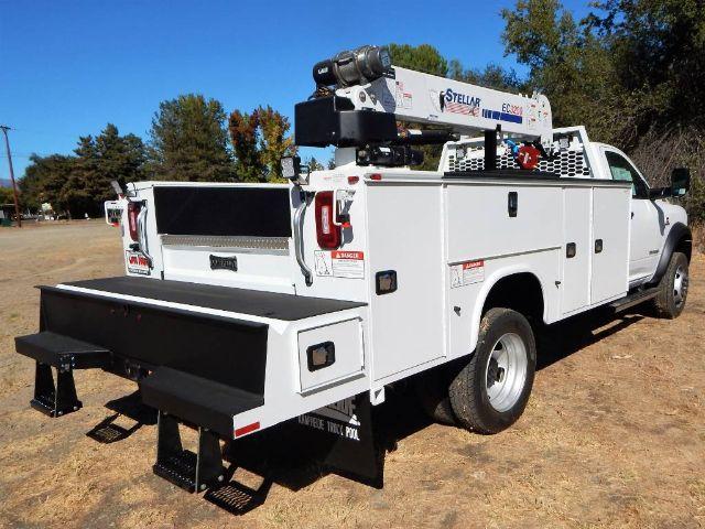 2020 Ram 5500 Regular Cab DRW 4x4, Tradesman, Knapheide KMS16 Mechanics Service Truck, 3200# Stellar Crane #20D187 - photo 17