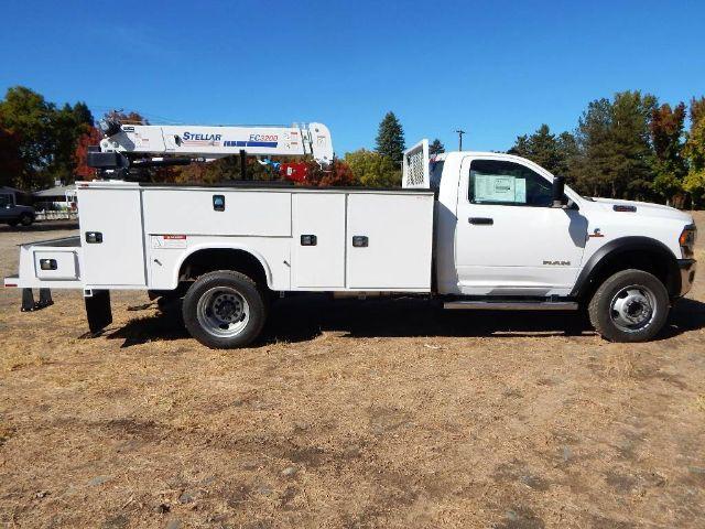 2020 Ram 5500 Regular Cab DRW 4x4, Tradesman, Knapheide KMS16 Mechanics Service Truck, 3200# Stellar Crane #20D187 - photo 18
