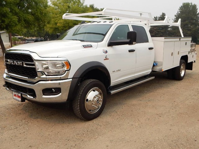 2020 Ram 5500 Crew Cab DRW 4x4, Tradesman, 12ft Scelzi Combo Body #20D244 - photo 1