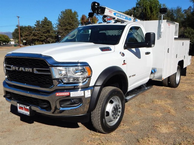 2020 Ram 5500 Regular Cab DRW 4x4, Tradesman, Scelzi Mechanics Body, 7000# AutoCrane #20D251 - photo 1