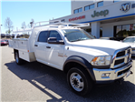 2015 Ram 4500 Crew Cab DRW 4x4,  Harbor Contractor Body #12252 - photo 1