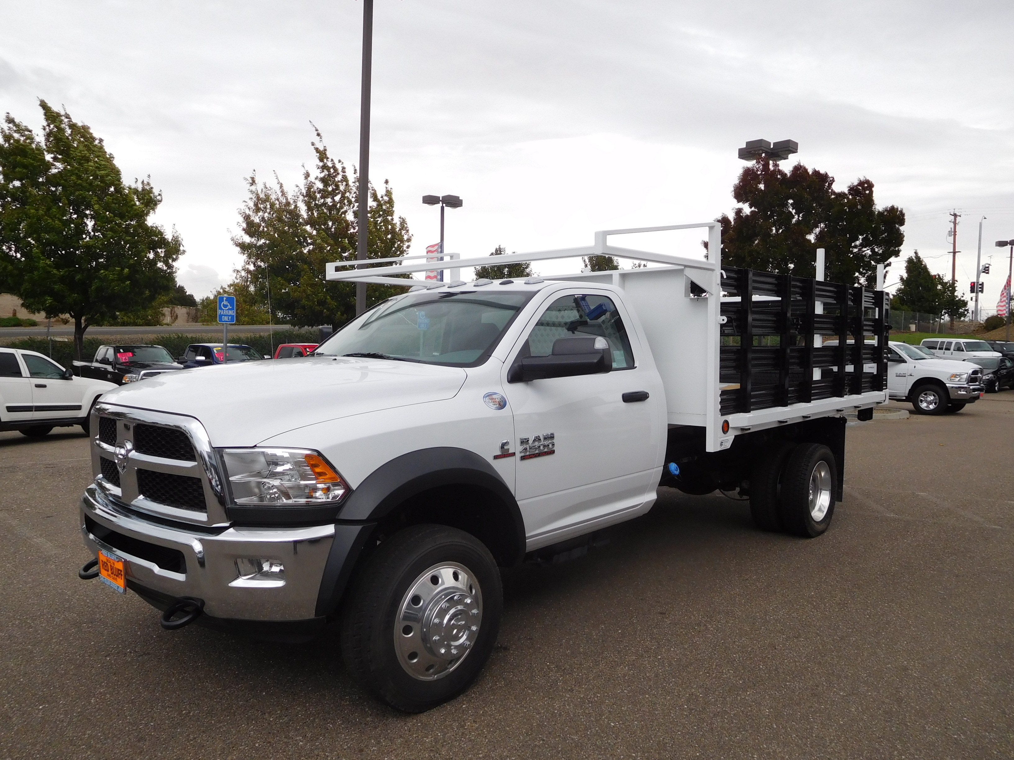 2016 Ram 4500 Regular Cab DRW 4x4, Stake Bed #12735 - photo 5