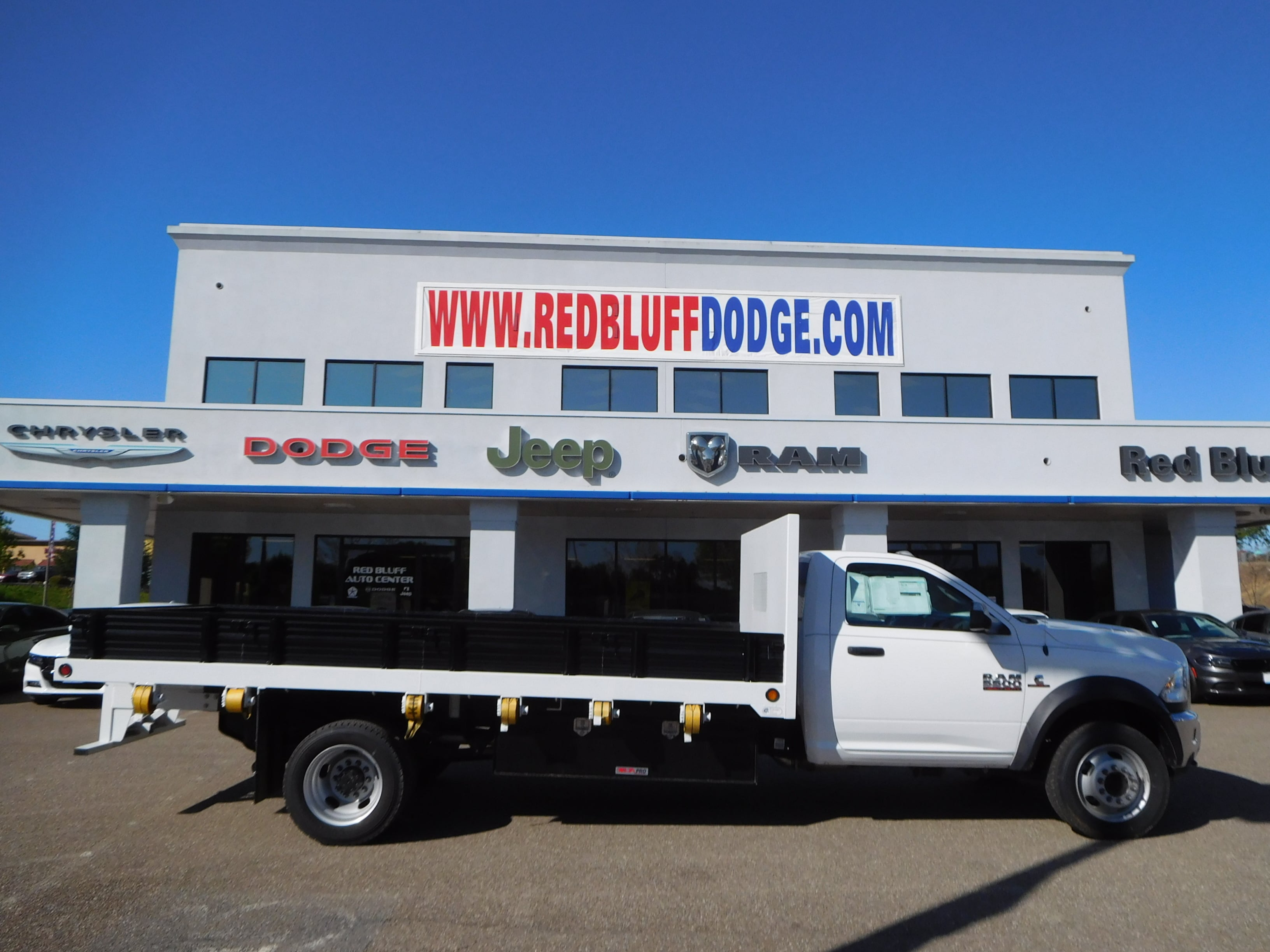 2016 Ram 5500 Regular Cab DRW 4x4,  Enoven Truck Body & Equipment Platform Body #13702 - photo 3