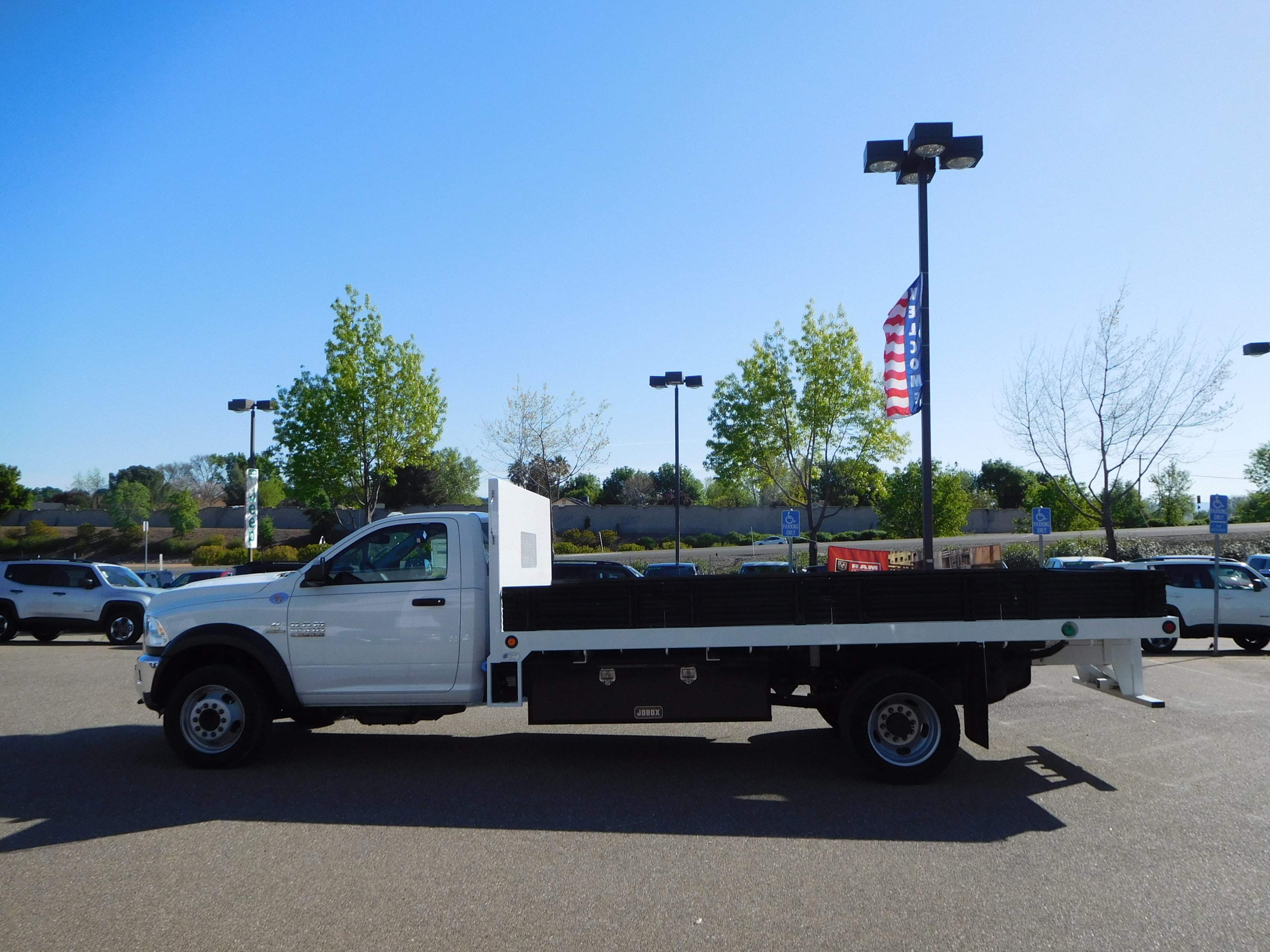 2016 Ram 5500 Regular Cab DRW 4x4,  Enoven Truck Body & Equipment Platform Body #13702 - photo 6