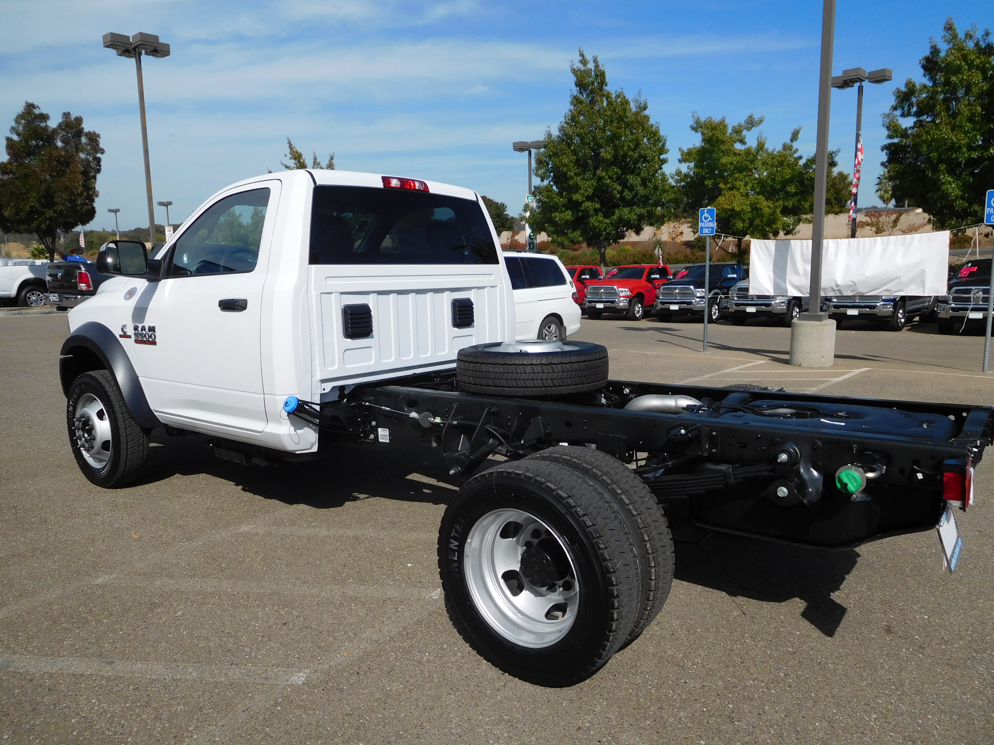 2017 Ram 5500 Regular Cab DRW 4x4, Cab Chassis #14070 - photo 2