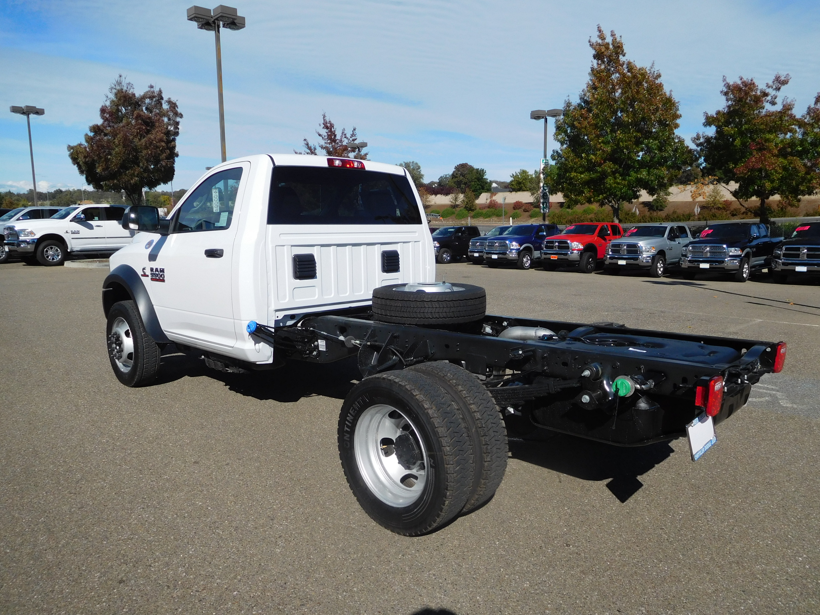 2017 Ram 5500 Regular Cab DRW 4x4, Cab Chassis #14131 - photo 7