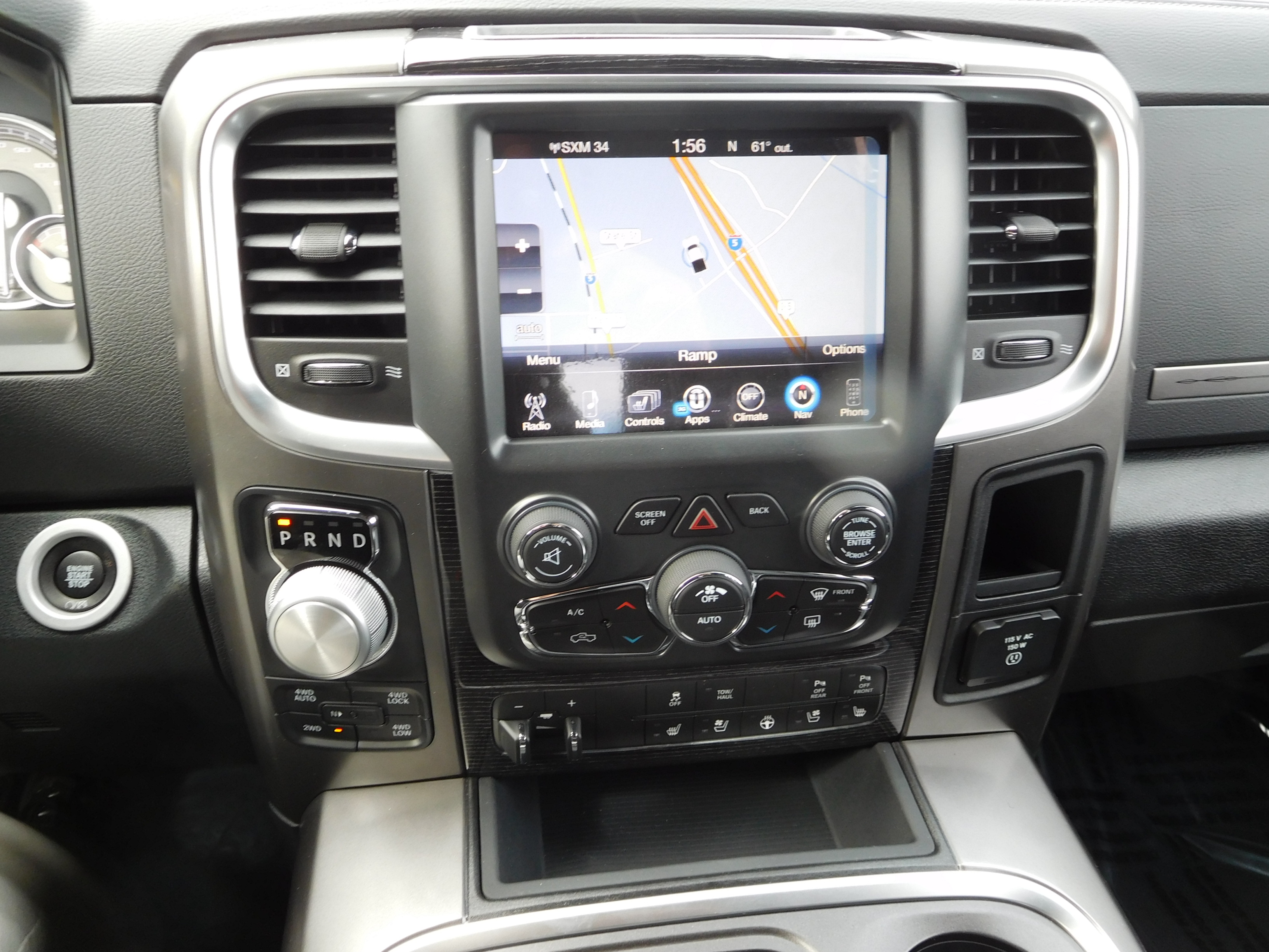 2017 Ram 1500 Crew Cab 4x4, Pickup #14592 - photo 14