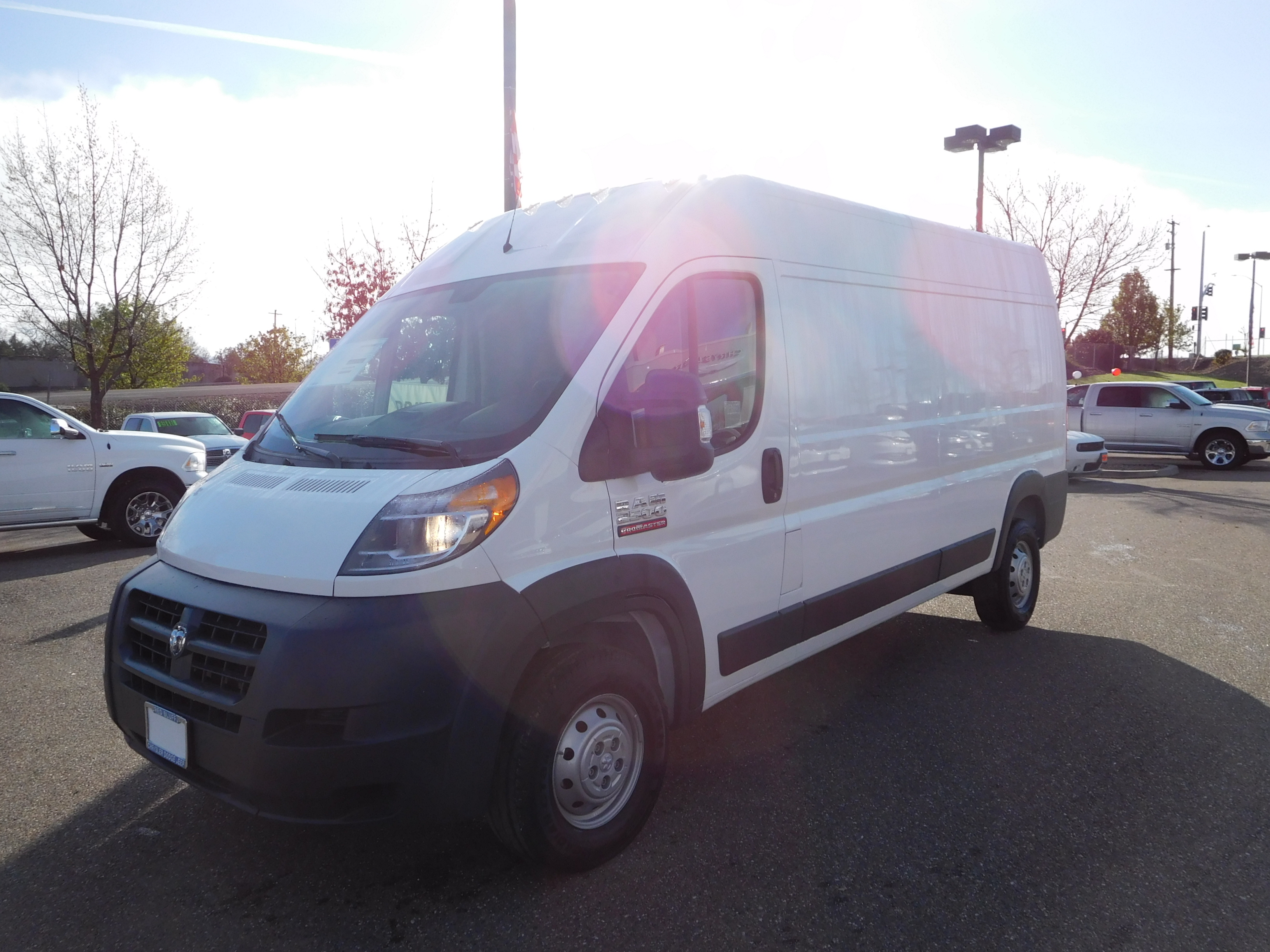 2017 ProMaster 2500 High Roof, Cargo Van #14652 - photo 5
